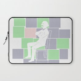 Think there and be square Laptop Sleeve