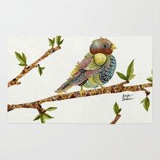 Positivity Bird Rug