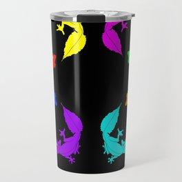 Rainbow Satanic Leaftail geckos Travel Mug