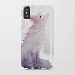 Fox in the Snow iPhone Case