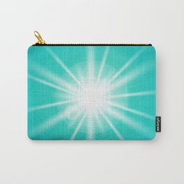 turquoise and light effect Carry-All Pouch