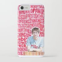 arctic monkeys iPhone & iPod Cases featuring Bigger Boys and Stolen Sweethearts - Arctic Monkeys by Frances May K