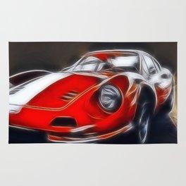 the legendary DINO GT Rug