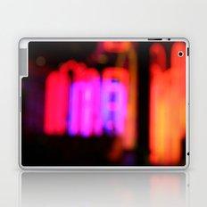 Neon City Lights. Laptop & iPad Skin