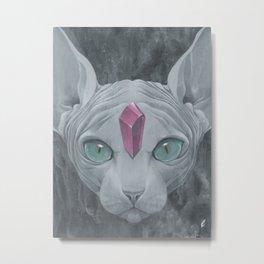 """""""Sphynx"""" Metal Print"""