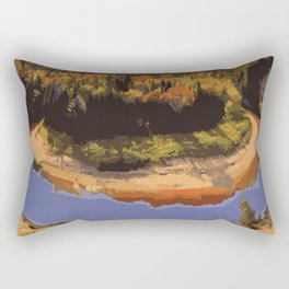 Arrowhead Provincial Park Rectangular Pillow