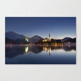 The Still Lake Canvas Print