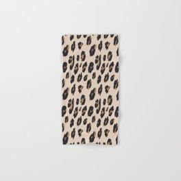 B&B Leopard Design Hand & Bath Towel