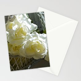 Roses in the White Light Stationery Cards