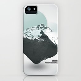 Mt. Everest - The Surreal North Face iPhone Case