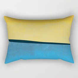 Let it Go. Go surf. Rectangular Pillow