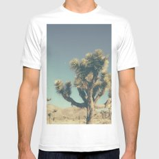 Somewhere between the stars MEDIUM White Mens Fitted Tee