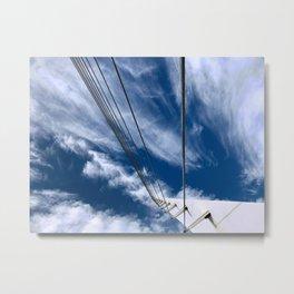 Bridge to sky Metal Print