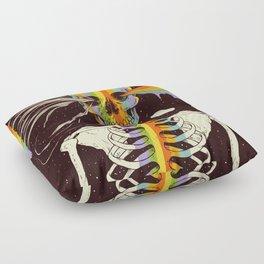 Dark Side of Existence Floor Pillow