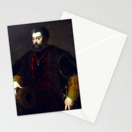 Titian Alfonso d'Este, Duke of Ferrara Stationery Cards