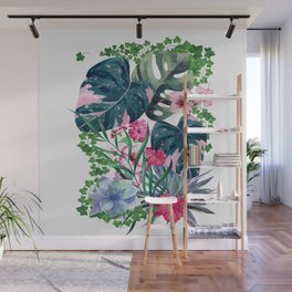 Tropical Plants Wall Mural