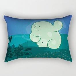 Revenge of the forest guardian Rectangular Pillow