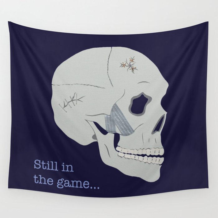 Still in the game Wall Tapestry