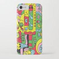 ice cream iPhone & iPod Cases featuring Ice Cream by Rabassa