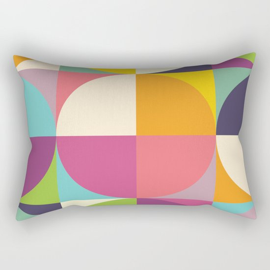 Quarters Quilt 4 Rectangular Pillow
