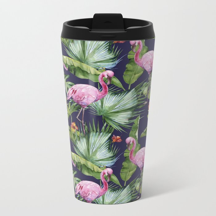 Tropical Summer #society6 Metal Travel Mug