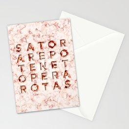 SATOR  AREPO  TENET  OPERA  ROTAS - Magic Spell Stationery Cards