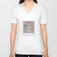 1989 V-neck T-shirts featuring The 1989 Era by Lucia C