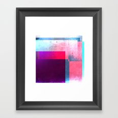 Digital Abstract Framed Art Print