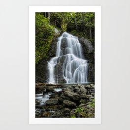Moss Glen Falls - Vertical Art Print