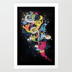 Pocket Magician Art Print
