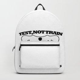 tes no train Backpack