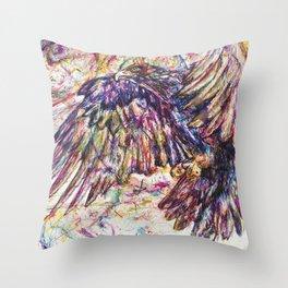Eagle // Abuelo/A Throw Pillow