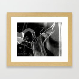Curse The Night Framed Art Print