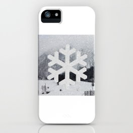 Snowflake iPhone Case