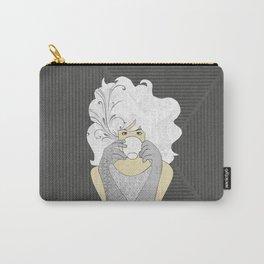High Tea Platinum Blonde Carry-All Pouch