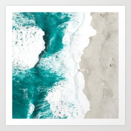 Sea 7 Art Print