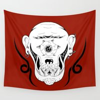 cyclops Wall Tapestries featuring Cyclops by Jorge Daszkal