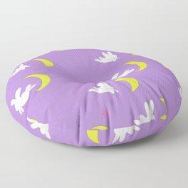 Usagi (Sailor Moon) Bedspread Bunny and Moon  Floor Pillow