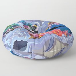 The Diver Floor Pillow