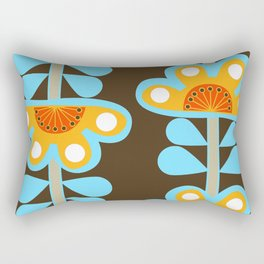 swedish flowers Rectangular Pillow