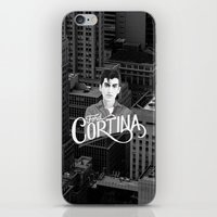 alex turner iPhone & iPod Skins featuring Alex Turner Ford Cortina by Balans
