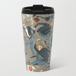 Boys Looking for Trouble Travel Mug