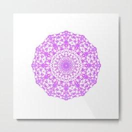 Mandala 12 / 4 eden spirit pink Metal Print