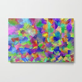 Star and fans Metal Print
