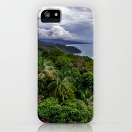 Villas Alturas Costa Rica View iPhone Case