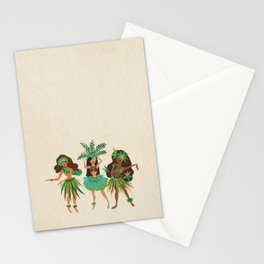 Luau Girls Stationery Cards