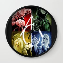Harry Potterr War Wall Clock