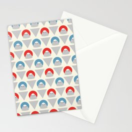 Mt Fuji Dots Stationery Cards