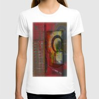oriental T-shirts featuring Oriental Projecting  by John Hansen
