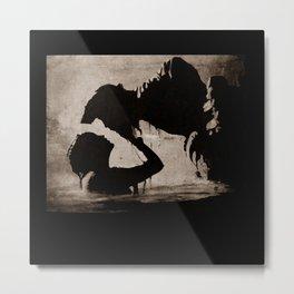 The kiss of the mermaid Metal Print